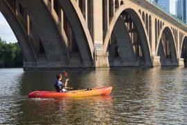 kayaking in dc