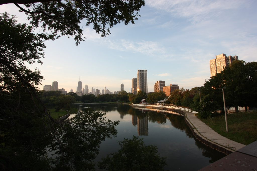 Lincoln Park is the perfect place to go running in Chicago.