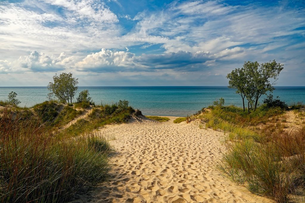 Indiana Dunes National and State Park is one of the best places to go hiking near Chicago.