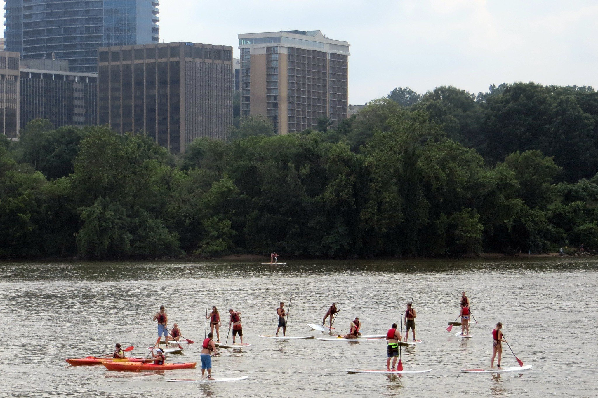 7 Places to Go Stand Up Paddle Boarding in and near Washington, DC