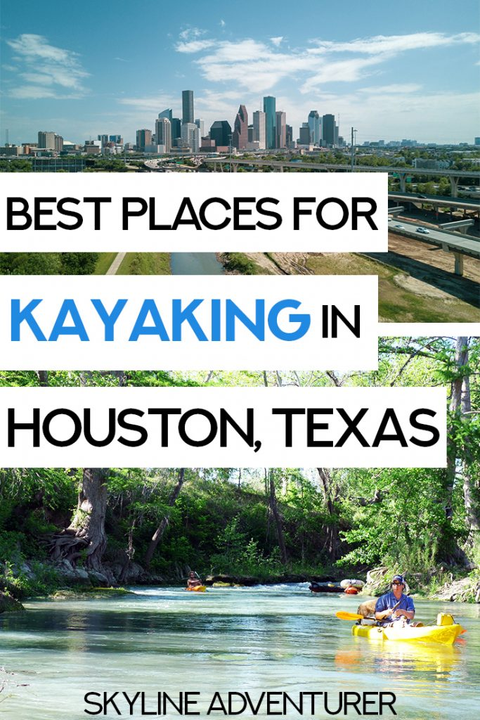 Itching for some fun outdoor things to do in Houston, Texas? Kayaking in Houston is one of the most fun and adventurous outdoor activities to experience the city! We wrote this complete guide to kayaking in Houston, including the best places for kayaking, where to go, and kayaking day trips from Houston. #Kayaking #Houston #Texas