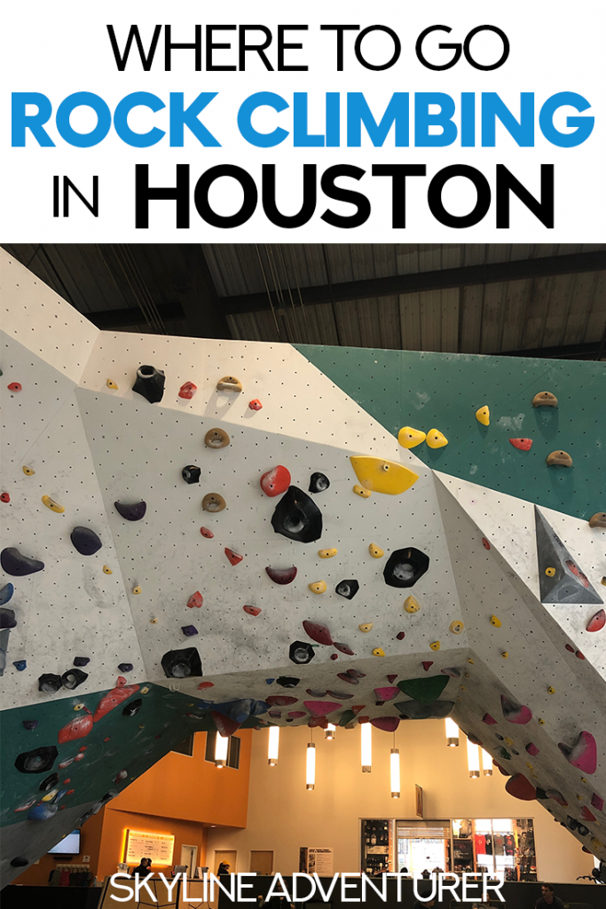 Houston is a great place for indoor rock climbing! We compiled this complete list of the best places to go bouldering and rock climbing in Houston for a perfect, fun workout! #Houston #Texas #RockClimbing