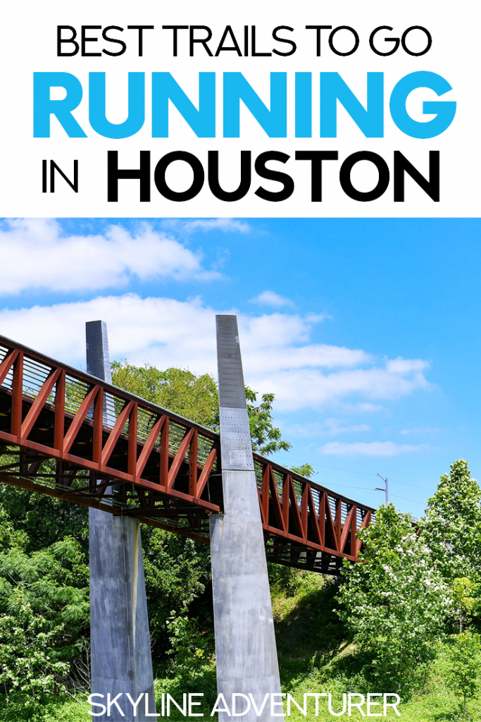 Contrary to popular belief, Houston, Texas is a fantastic city for runners! If you're looking for a good Houston running trail, you've come to the right place. We created this complete guide to the best places for running in Houston, including top Houston running trails, Houston parks, paved hike and bike trails, and workout spots! #Running #Fitness #Houston #Texas