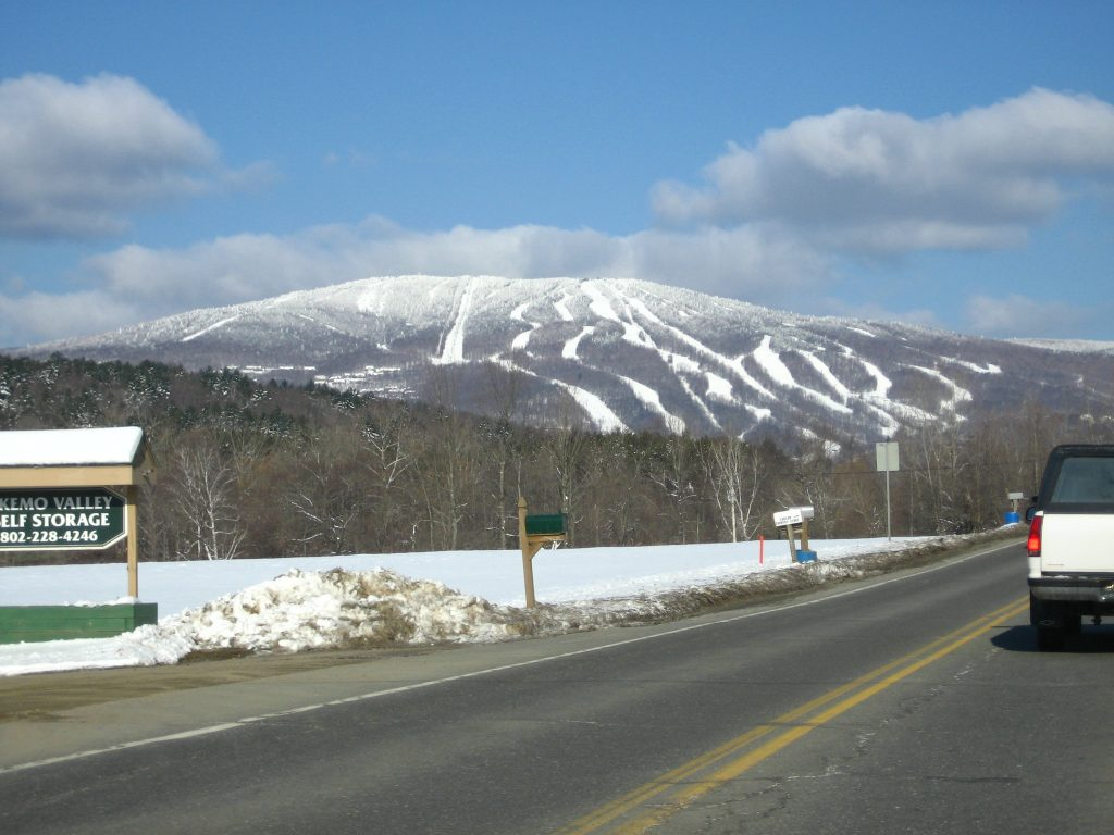 Okemo Ski Resort view - ski resorts near NYC New York
