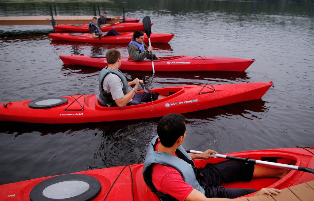 Try kayaking this Summer with friends and family- it is an activity for all!