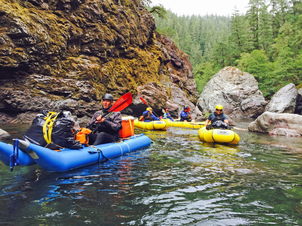 Chetco River is a beautiful place to go canoeing and kayaking in Portland!