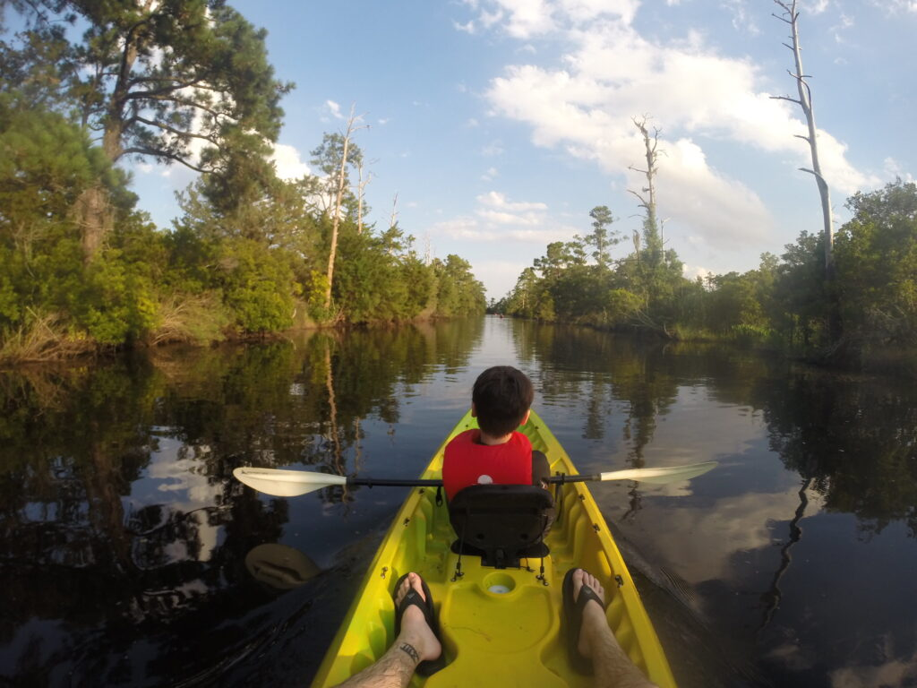 kayaking in charlotte is a wonderful  way for all ages to enjoy the outdoors.