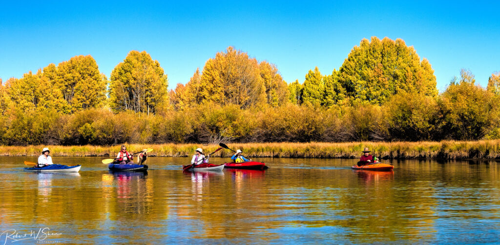 Deschutes River kayaking is a wonderful place for beginners to interact with nature and practice their paddling skills!