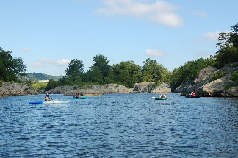 ConowingoPondis a hidden gem  with blue waters which are stunning for canoeing and kayaking inBaltimore.