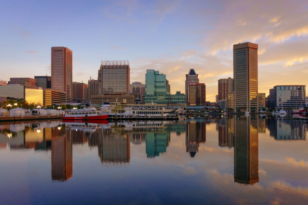 Canoeing and kayaking in Baltimore is a wonderful way to see maryland's natural beauty, both urban and natural.