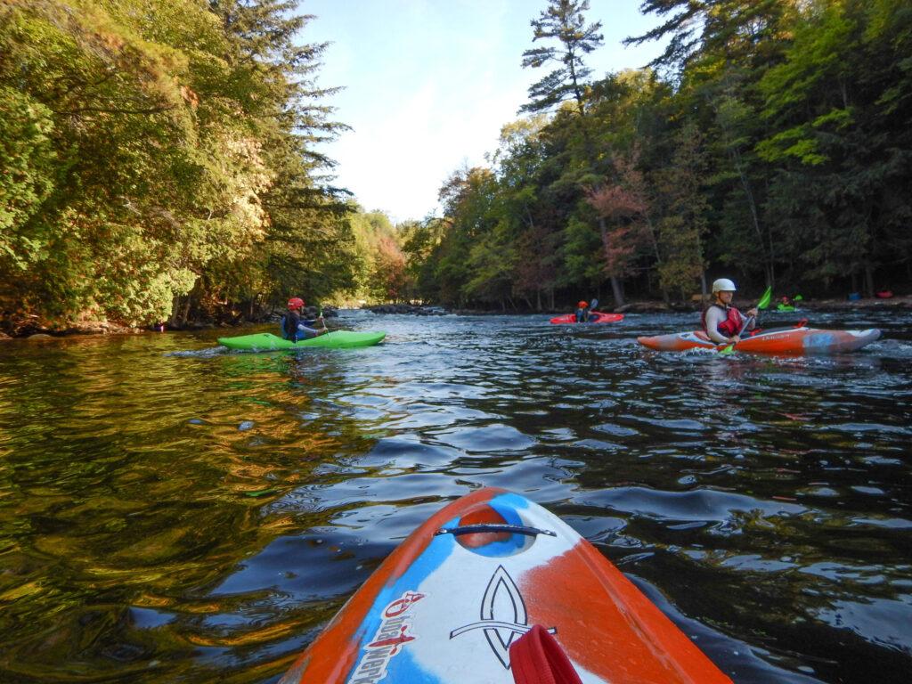 river kayaking in San Antonio is a fun outdoor activity