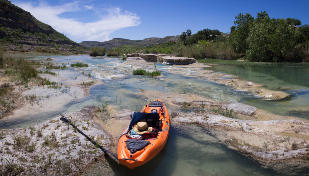 kayaking in San Antonio is a great escape from the busy city.