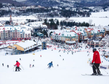 Mont Tremblant, a great option for skiing near Quebec City